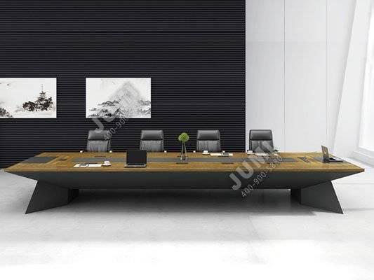时尚实木会议桌-hyz027