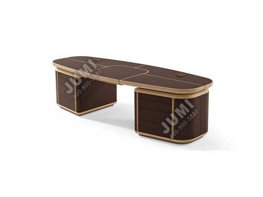 现代实木老板桌 dbt-090