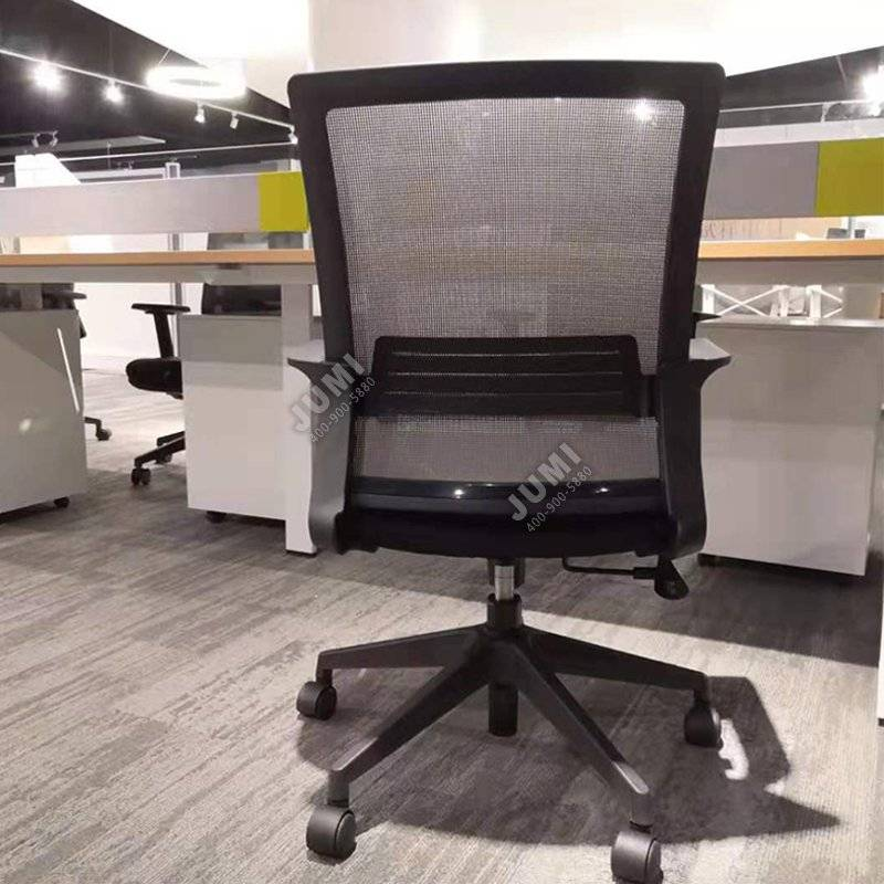 简约靠背人体办公椅子-JM007