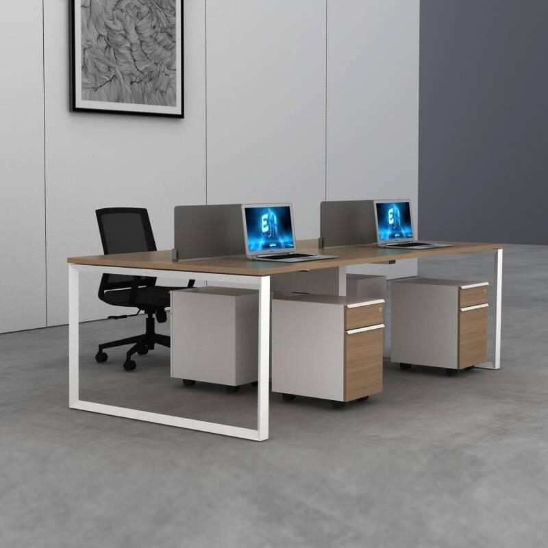 办公桌椅组合简约现代屏-JM201