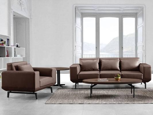 真皮休闲沙发沙发-sf063