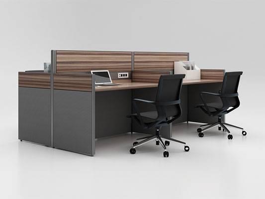 屏风卡位办公桌-pfkw030
