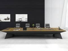 实木会议桌的形状该怎么选择?