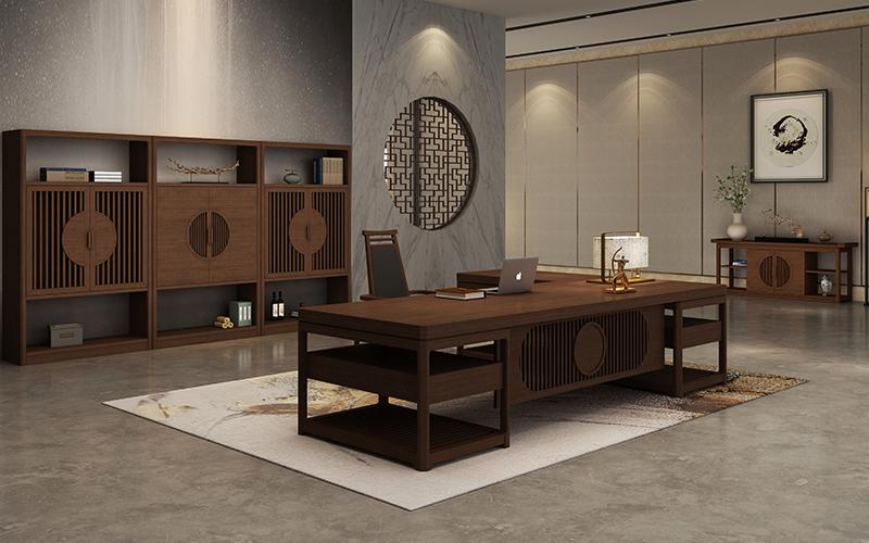 中式古典办公家具