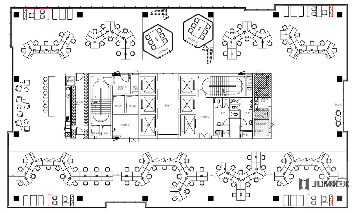 巨米家具案例:泰富华地产设计图